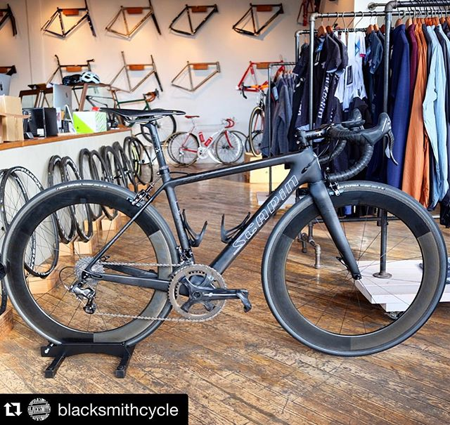 #Repost @blacksmithcycle dropping an Italian dream build...Remaining LTD SL frames now on sale in the web store!! ・・・ Our latest @scapinusa LTD SL heads out the door for Tim L. with a stealthy @campagnolosrl build kit. Since this model was a limited run of 20 framesets, not many have ridden this rig, even the top international media. Let's just say that this bike is our little secret - light, smooth, stiff, and descends like a demon. Talk to us about grabbing one of the remaining frames on sale while they last for your next carbon race project. #scapinltdsl #scapinusa