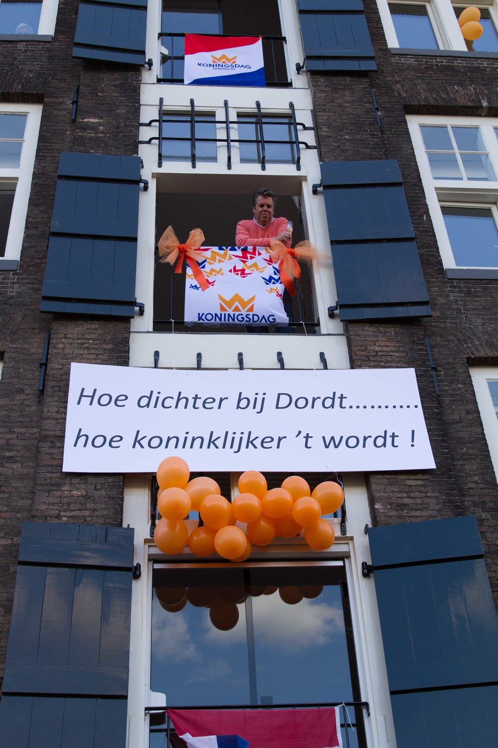 Great example of open window encounters from King's Day