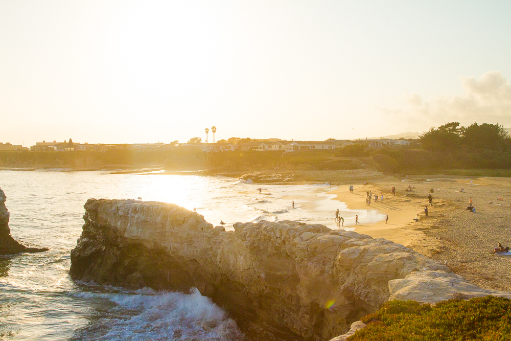 Golden Hour at Natural Bridges