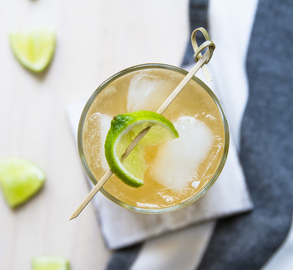 Bourbon + Lime + Ginger Beer = <3