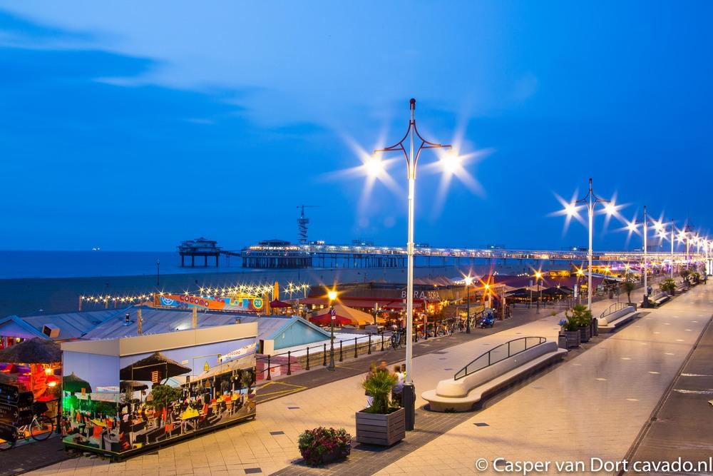 Scheveningen Boulevard uitzicht de Pier