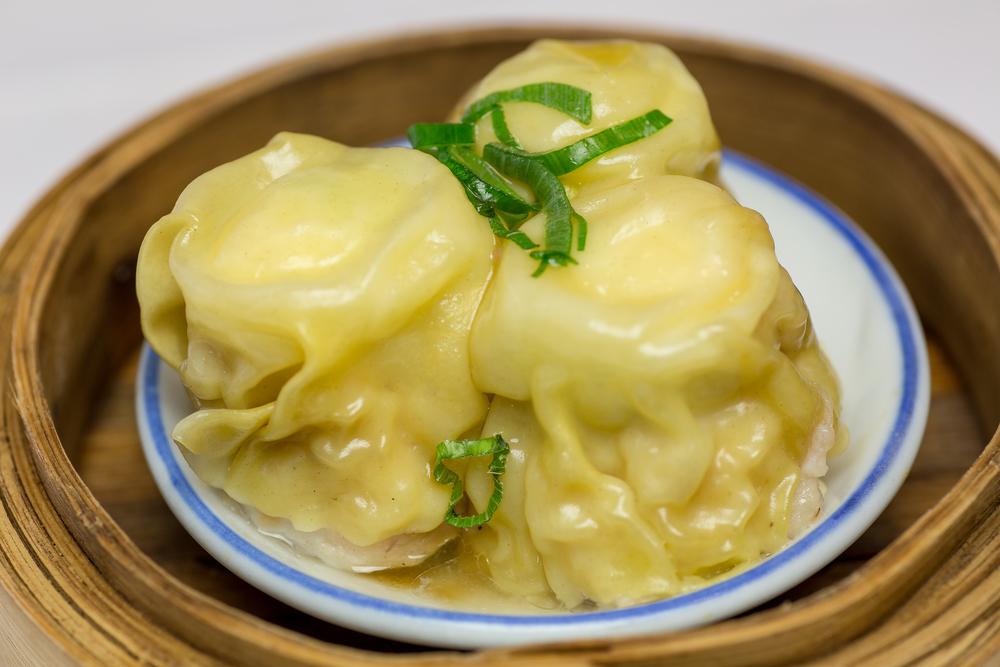 Am Tjun Mai Gestoomde gevulde kwarteleitjes met vlees en garnalenvulling