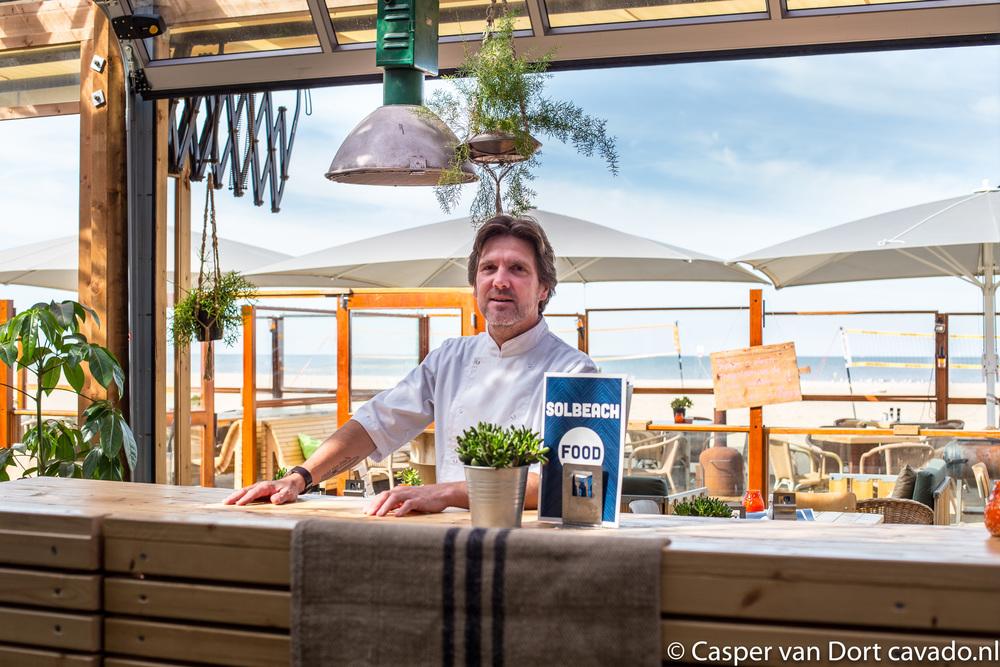 Sander Beekink bij SOLBeach in Scheveningen