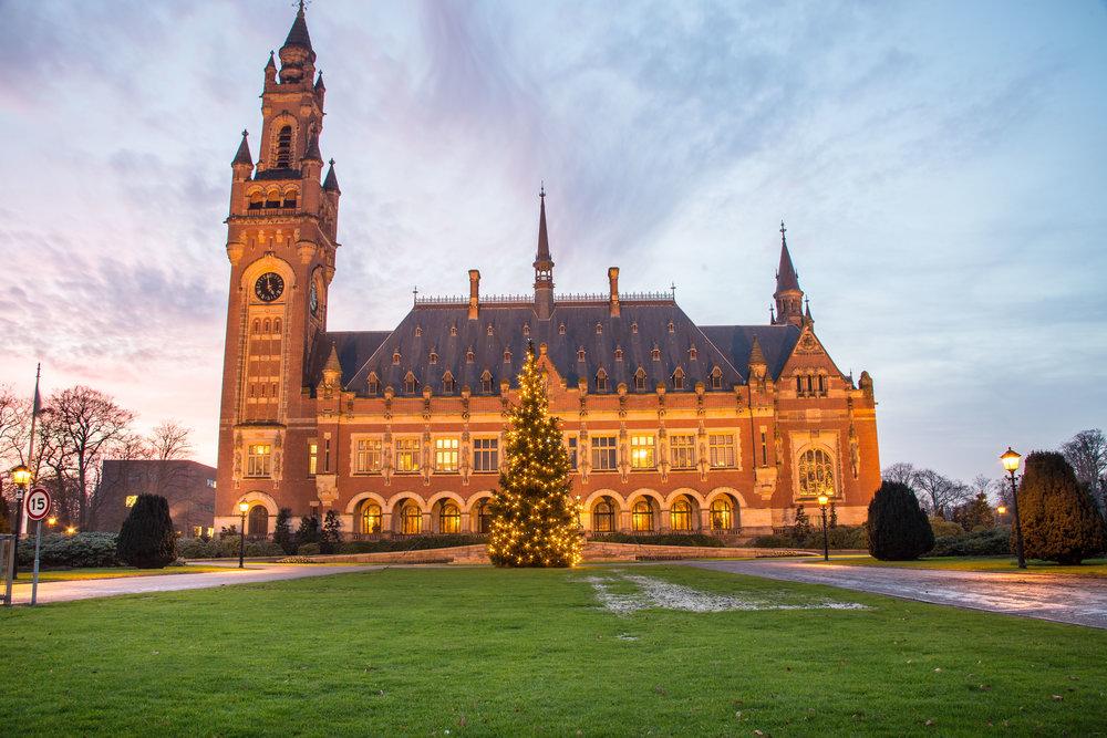 Kerstboom Vredespaleis