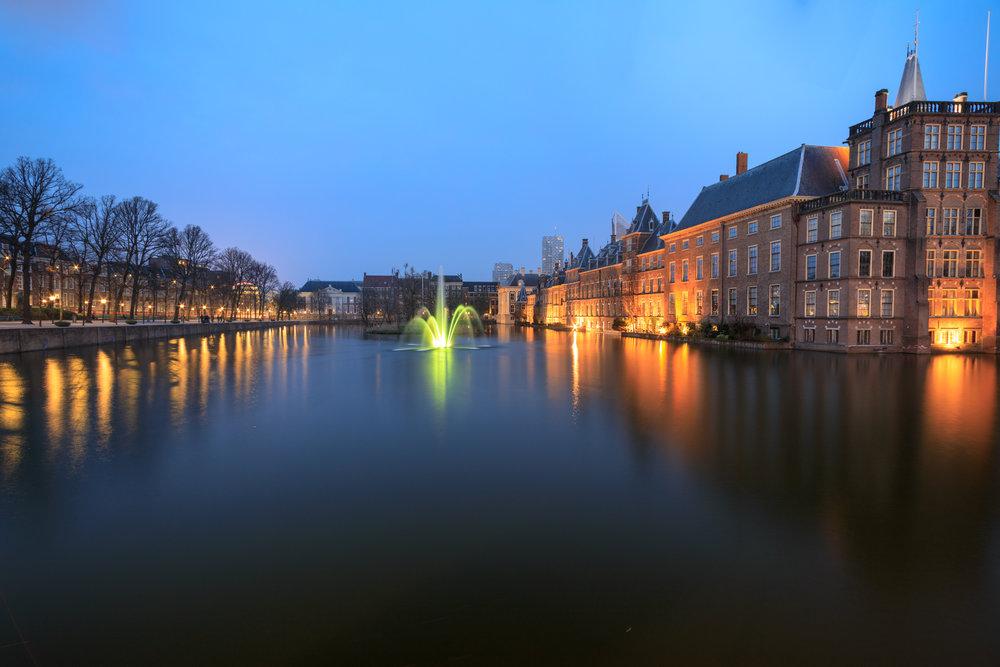Hofvijver | Binnenhof | 't Torentje | Mauritshuis