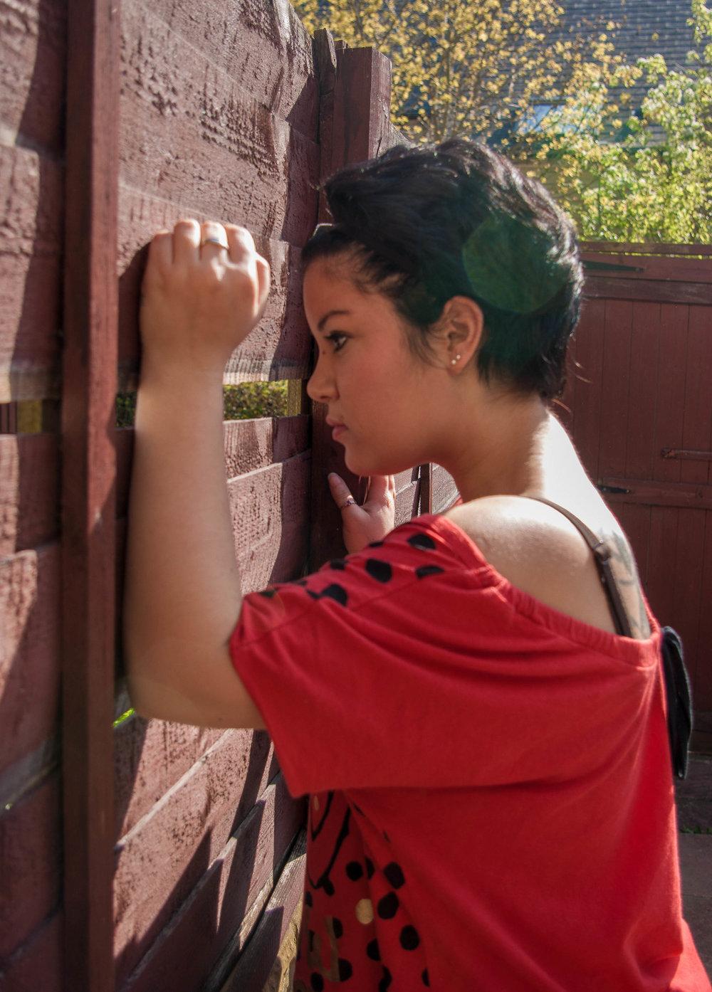 Abby, 2011 Shy B Photography location shoot, Bradford West Yorkshire