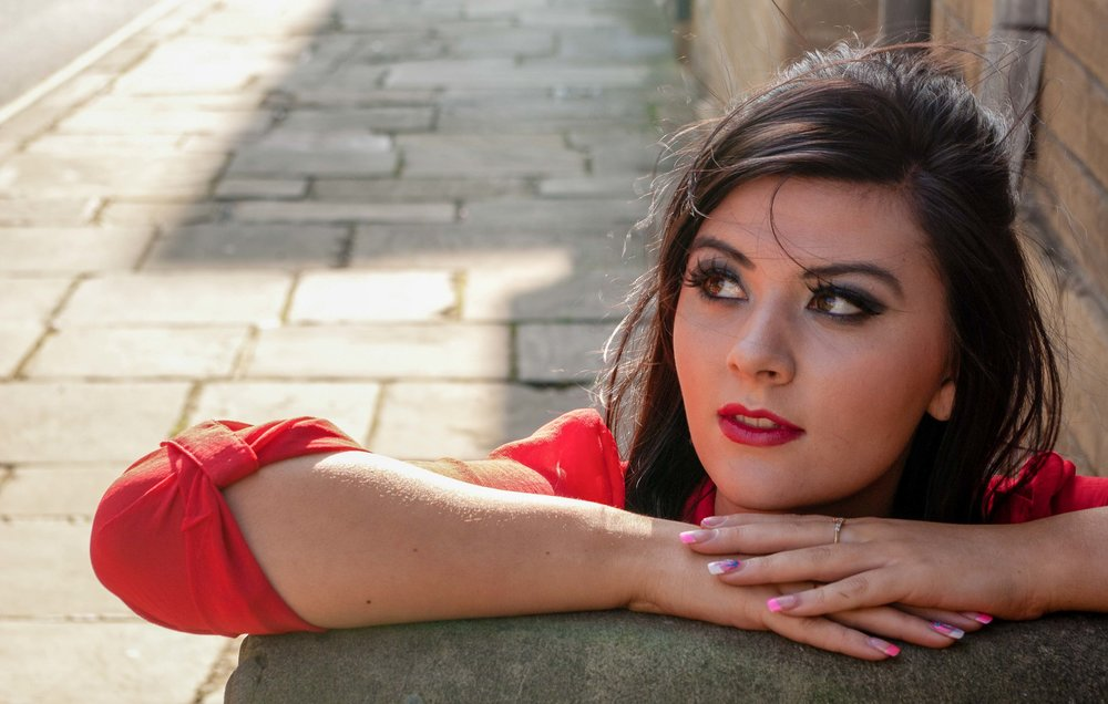 Sophie 2011, Shy B Photography location shoot. Little Germany Bradford West Yorkshire