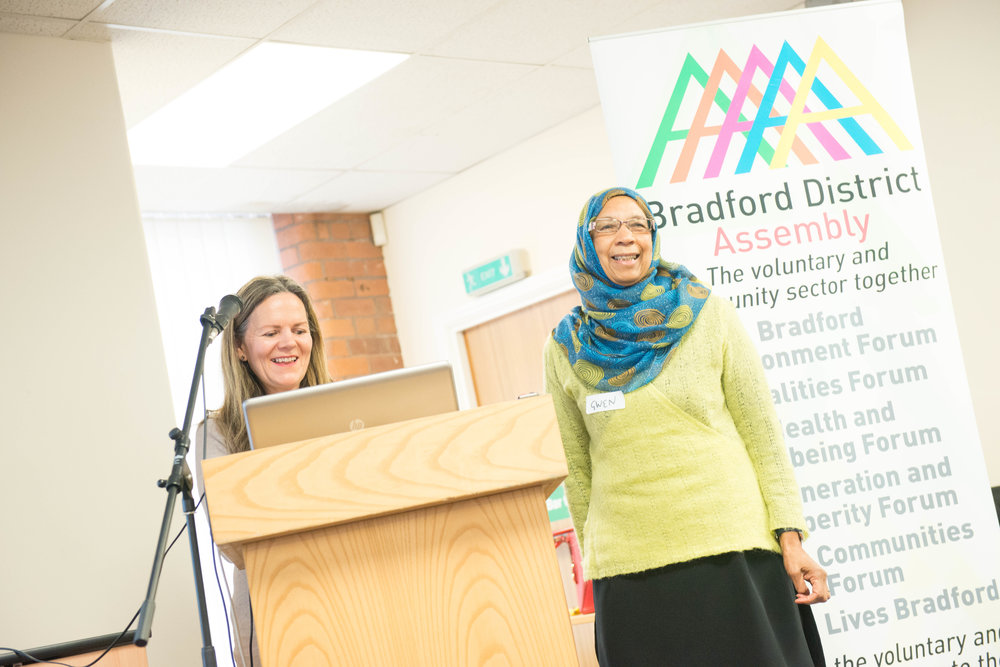 WOMEN'S HEALTH NETWORK LAUNCH, LITTLE GERMANY, BRADFORD, NOVEMBER 2016