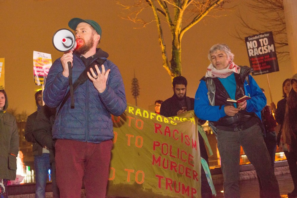 BRADFORD ANTI-TRUMP RALLY, JANUARY 2017