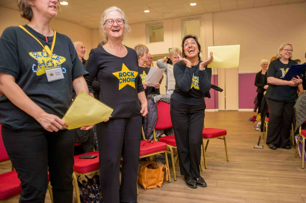 Community Choir - 6th November 2017, Mayfield Centre, Bradford