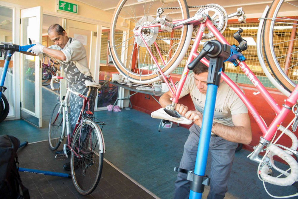 Bike Library - 16th November 2017, Parkside Centre, Bradford