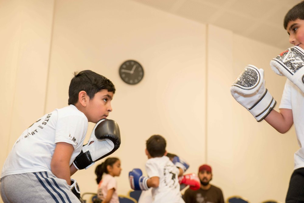 Kickboxing Classes - 19th November 2017, Park Lane Centre, Bradford