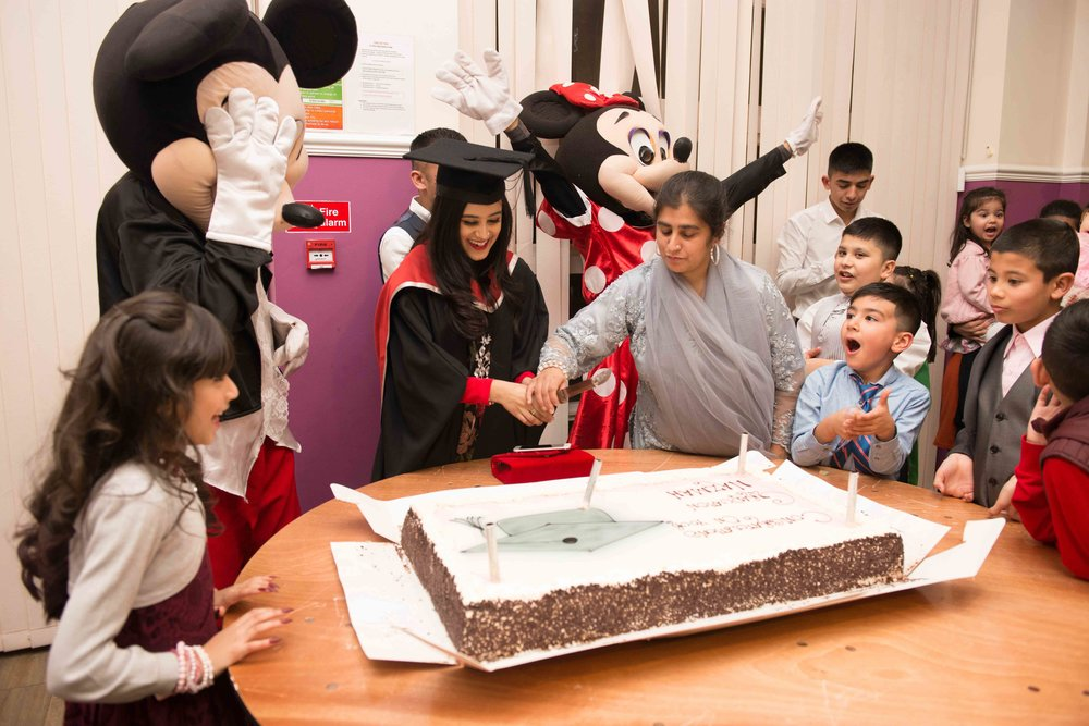 Graduation Party - 22nd November 2017, Mayfield Centre, Bradford