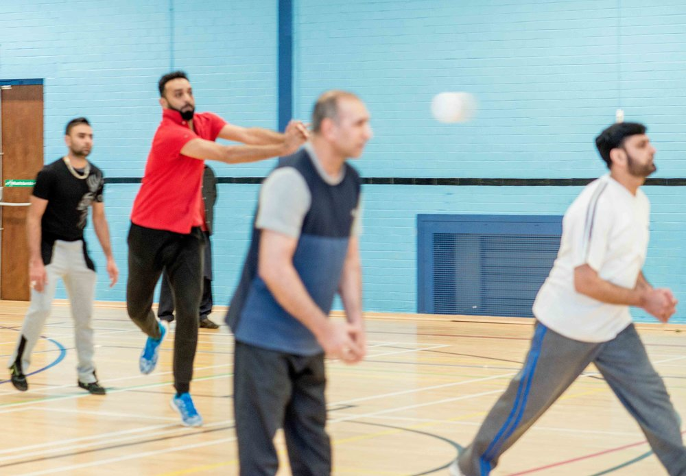 Volleyball - 3rd December 2017, Parkside Centre, Bradford