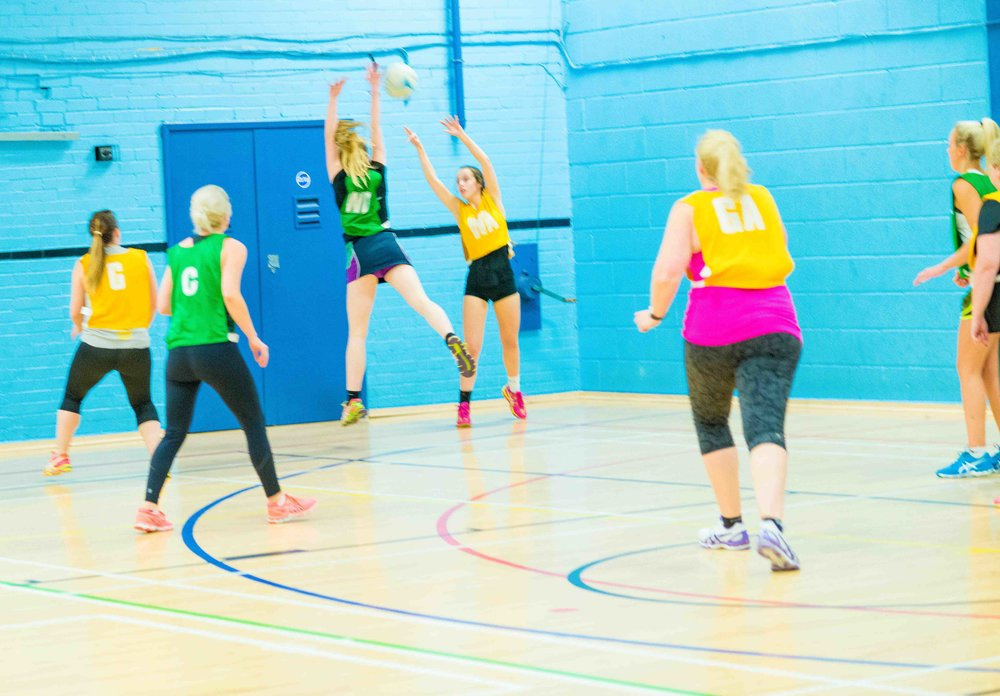 Netball - 5th December 2017, Parkside Centre, Bradford