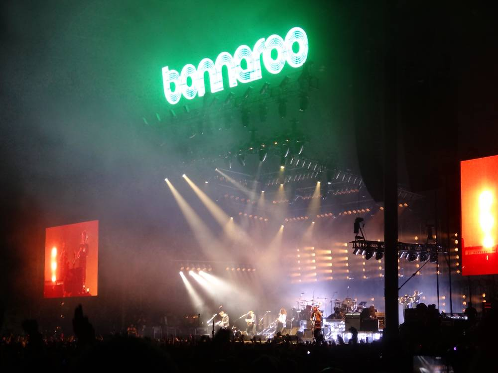 Bonnaroo in Tennessee, USA