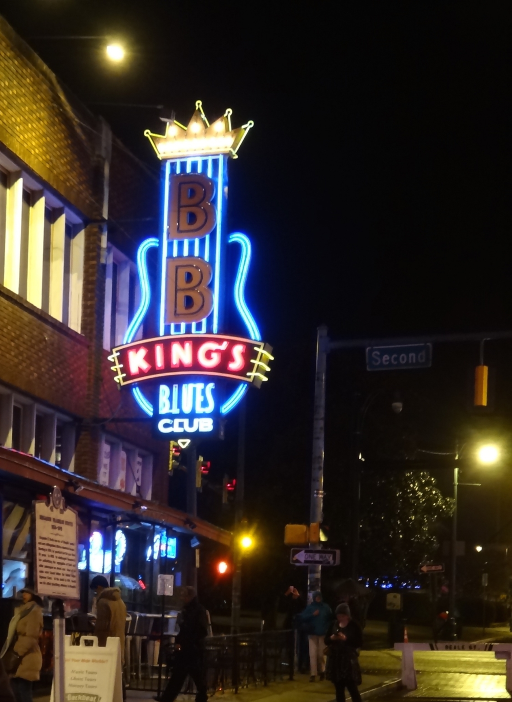 BB King's Blues Club on Beale Street