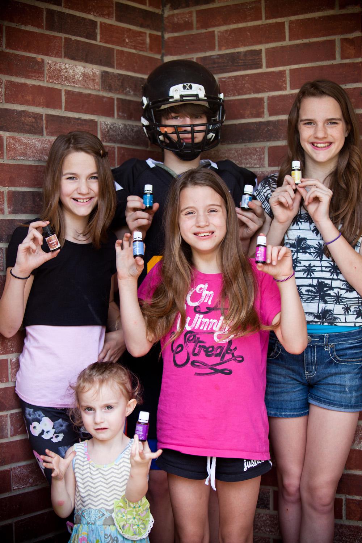 My 5 Oily Kiddos: Brendan, Ashlyn, Kayden, Meagan, & Aspen.