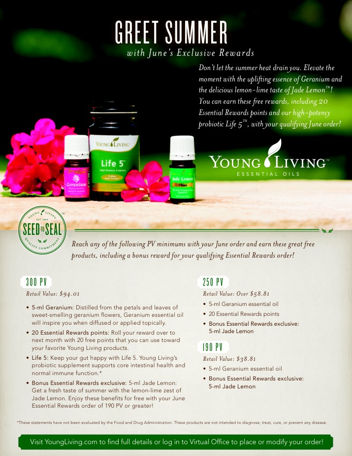 Summer + Savings on Young Living Products = A Sweet Deal You Don't Want to Miss