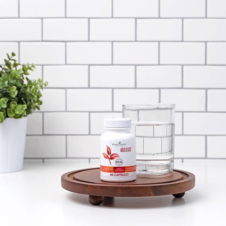 Get moving with AgilEase. This Young Living supplement supports joint health.