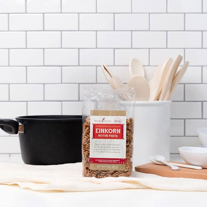 Einkorn pasta is easier to digest and just as delicious to eat.