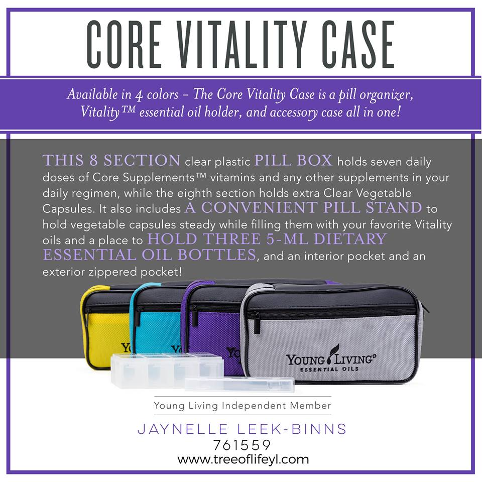 We award this one MVP for most versatile product! It's a pill organizer, Vitality™ essential oil holder, and accessory case all in one!