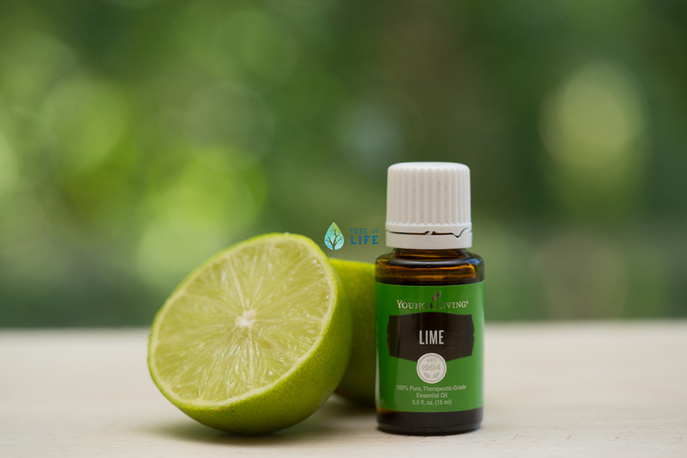 Lift your spirits with Young Living Lime! We love to diffuse this bright scent for an aromatic boost.