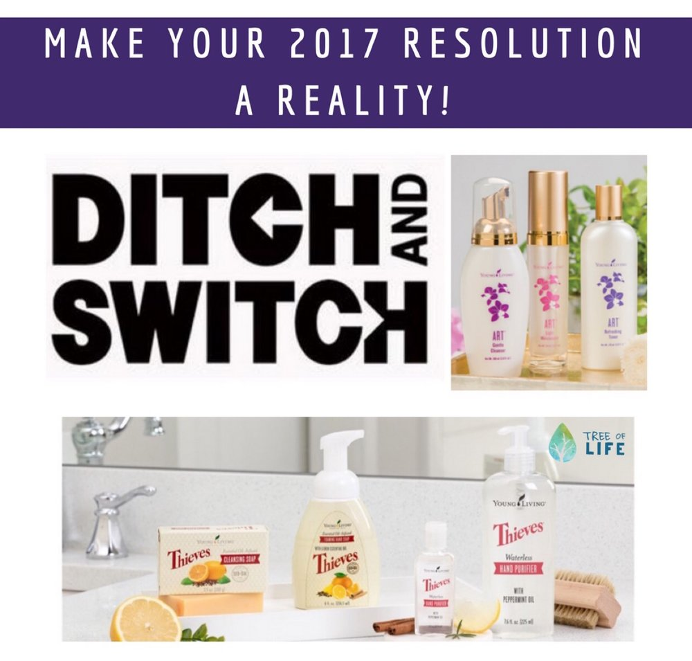 Make your 2017 resolution a reality with a few of our favorites like the  ART skincare system , Young Living's super popular face cream, foaming face wash and toner.