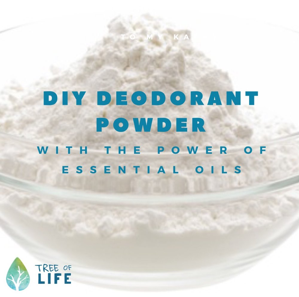 Simple instructions, common supplies, power to personalize...what are you waiting for? This DIY deodorant power is amazing!