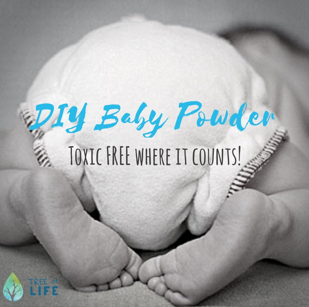 Keep baby's skin soft AND your peace of mind? That's a win-win with this DIY Baby Powder.