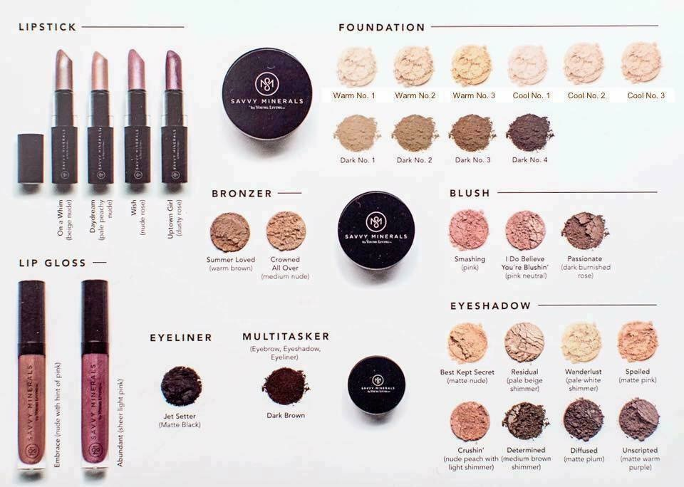 Check out our Savvy Minerals guide for everything you need to know about Young Livings new natural makeup line.