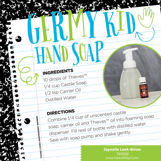 Feeling DIY-inspired? Try this wellness-boosting, Thieves-powered foaming hand soap.