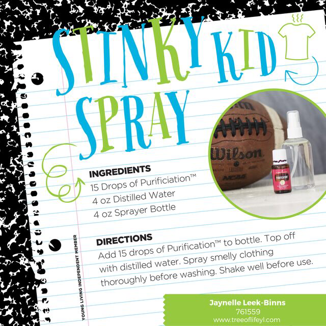 Keep this spray with you anywhere stink can happen: aka EVERYWHERE.