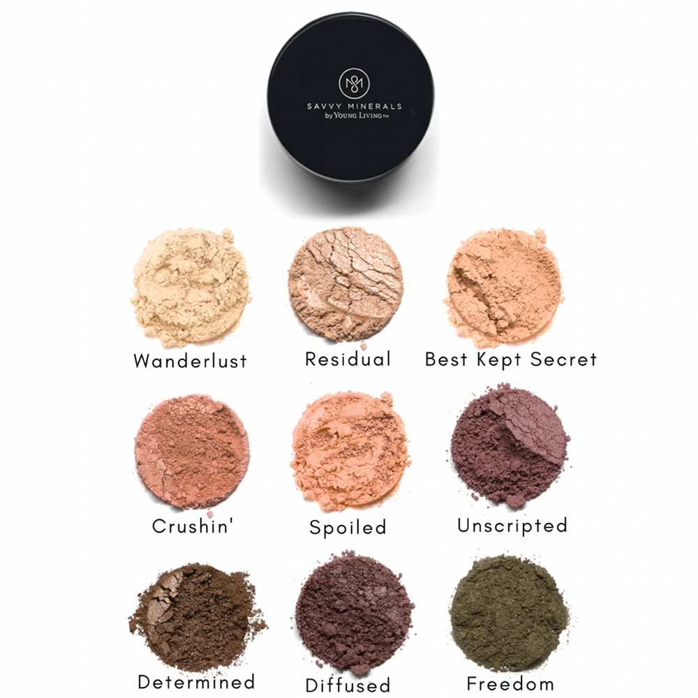 Learn more about Savvy Minerals Eye Shadow