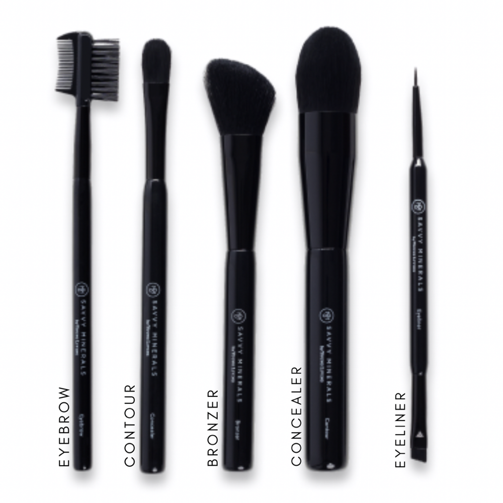 Ultra soft brushes for luxurious application