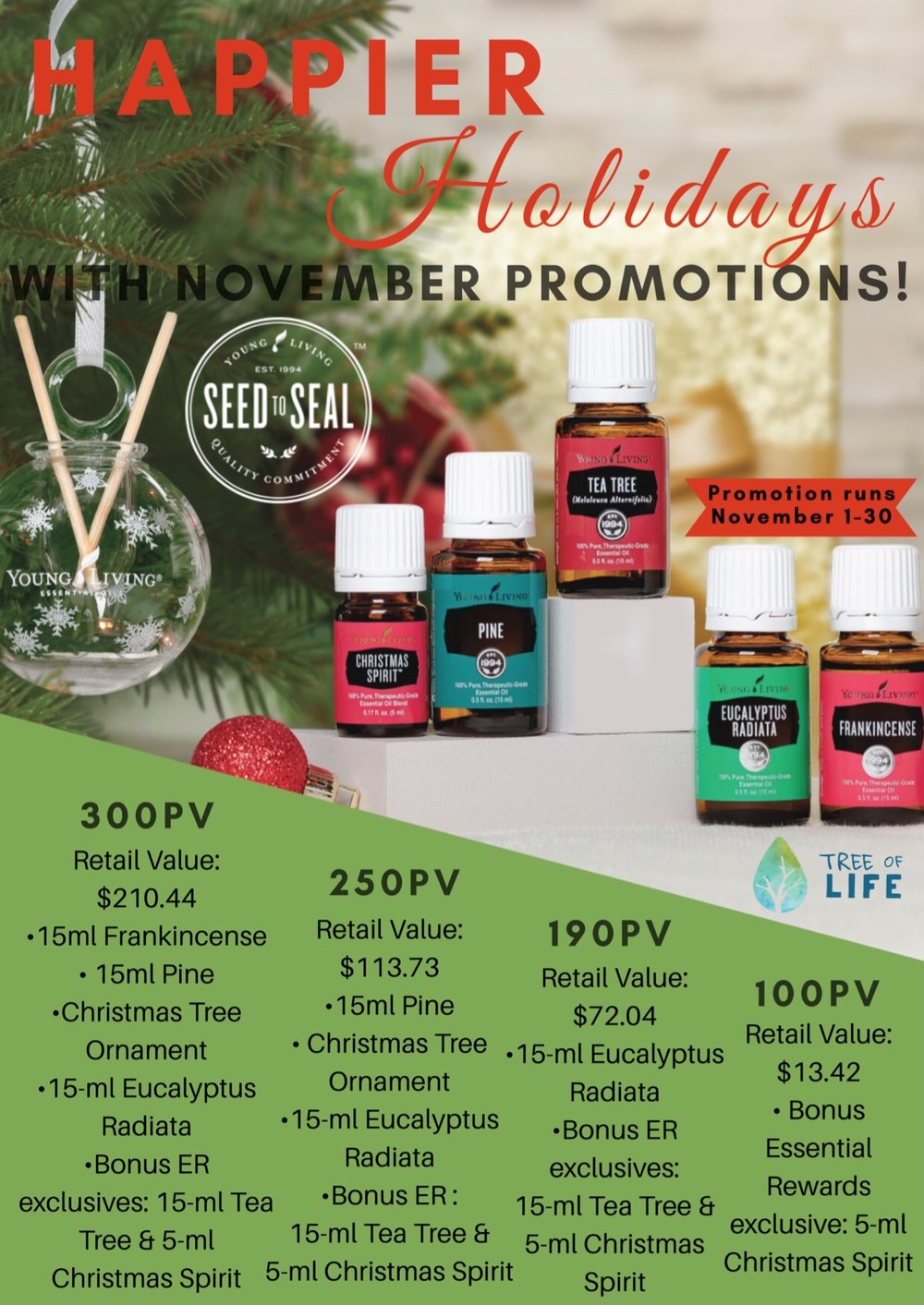 Earn clean, rejuvenating scents Eucalyptus Radiata & Tea Tree with this month's order.