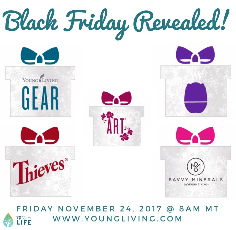 Stay tuned for over 40 deals on your fave Young Living products (and even more surprises!).