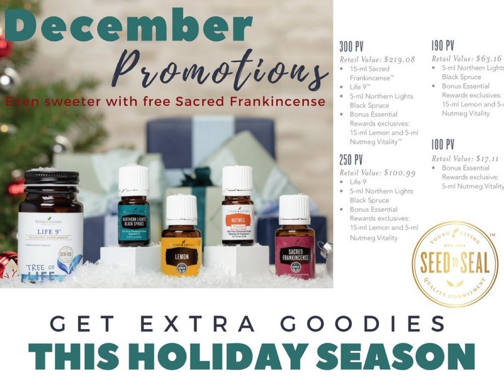 Support your mood and your immune system with the December promo!