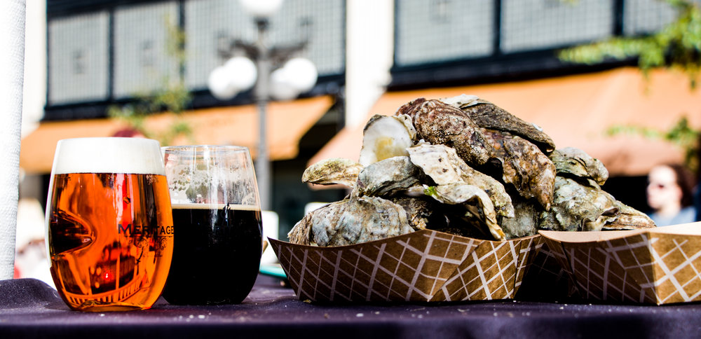 oysters and stout