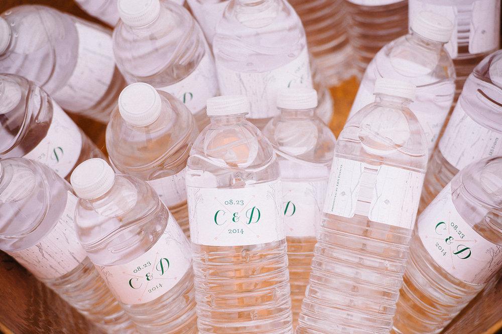 Monogrammed Water Bottles