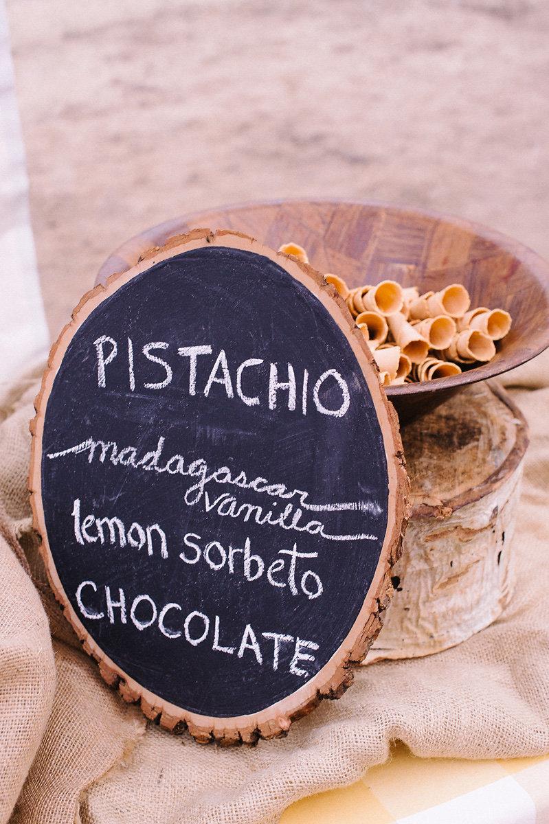 Dessert Menu Chalkboard