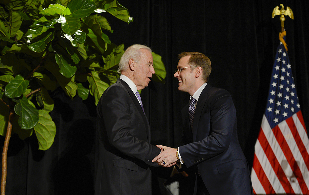 Joe Biden & Scott Miller
