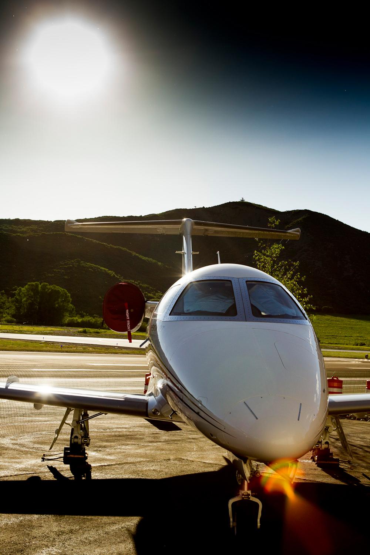 Aspen Private Jet