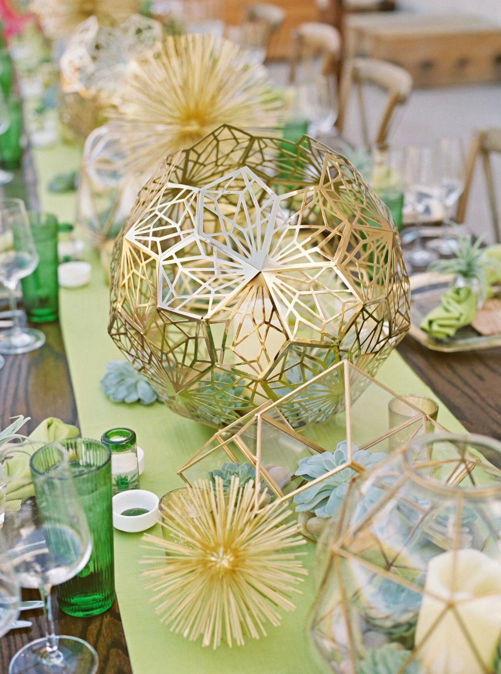 desert themed dinner table