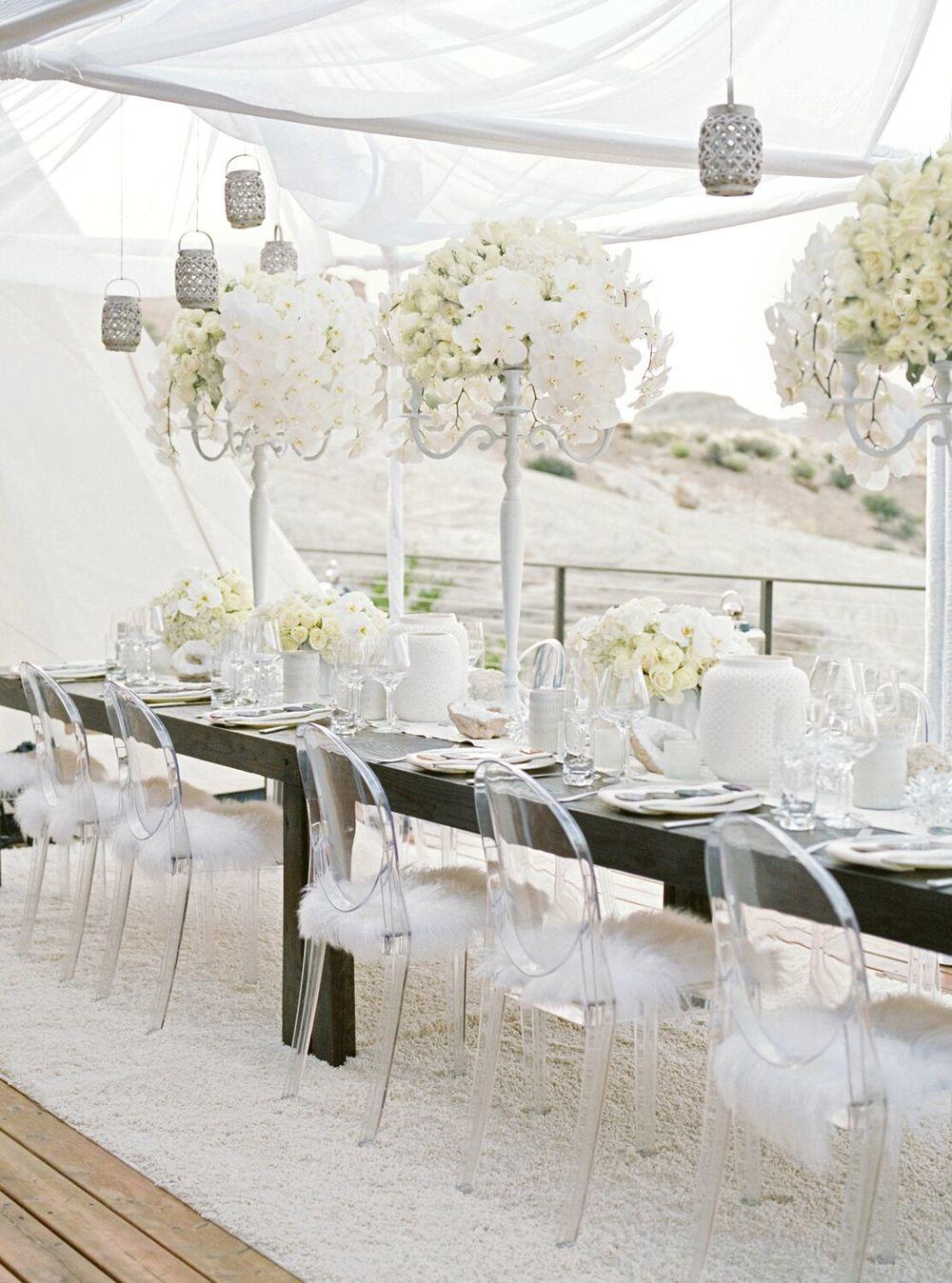 white party dinner