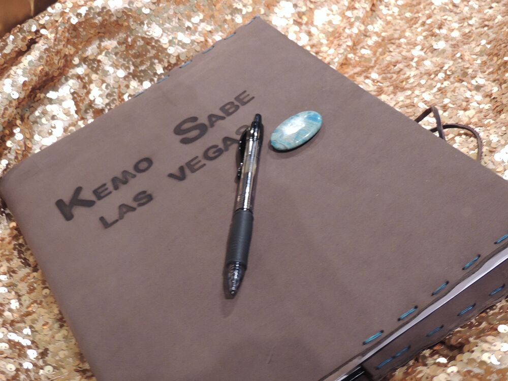 Leather Kemo Sabe Journal