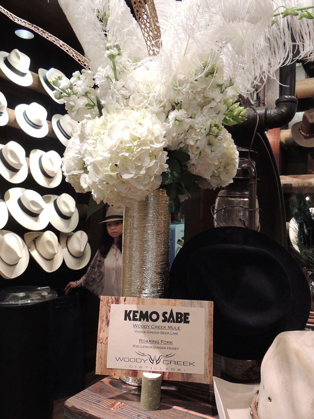 Kemo Sabe-Woody Creek Vodka Bar Signs