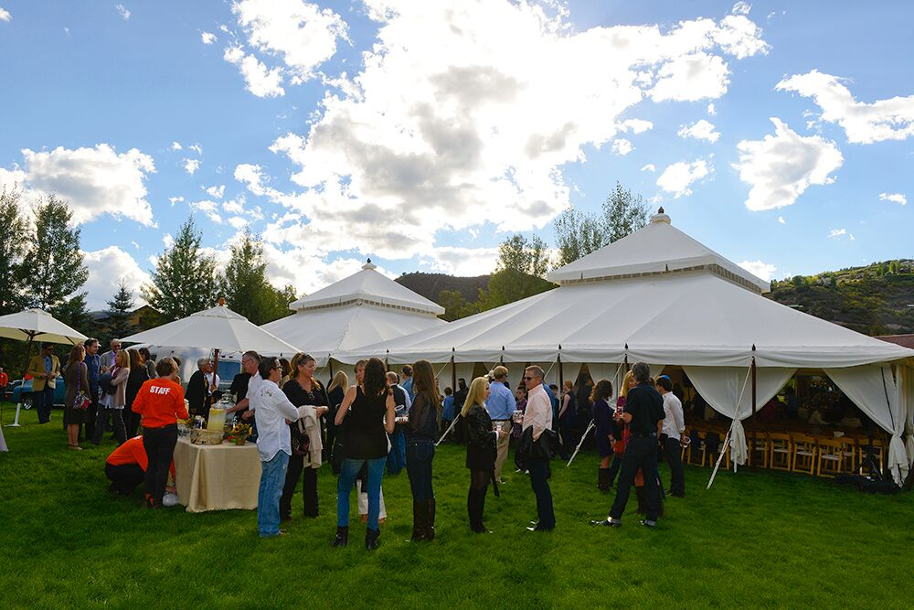 aspen bar mitzvah outdoor tent