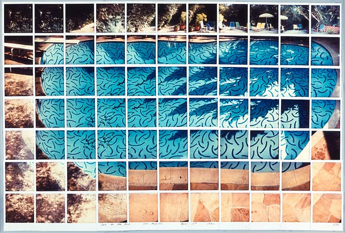 "In the 1980's David Hockney made massive collages using polaroid peel apart film. He called these composites ""joiners"" and stopped painting for years to work on this technique exclusively."