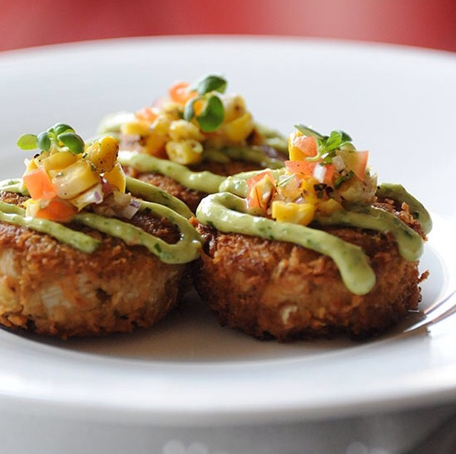 Crab Cakes, courtesy of Food and Wine/ instagram.com/diningwithdevyn